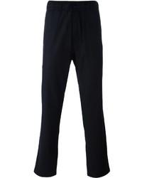 Pantalón de chándal de lana azul marino de YMC