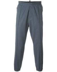 Pantalón de chándal de lana azul de DSQUARED2