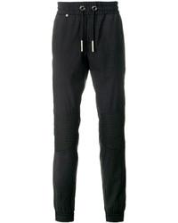 Pantalón de Chándal de Lana en Gris Oscuro de Philipp Plein