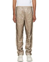 Pantalón de chándal de lana marrón claro de Cottweiler