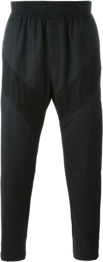 Pantalón de chándal de lana negro de Givenchy