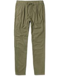 Pantalón de chándal de lana verde oliva de Nonnative