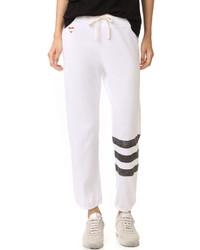 07f96fd4c1 Comprar un pantalón de chándal de rayas horizontales blanco  elegir ...