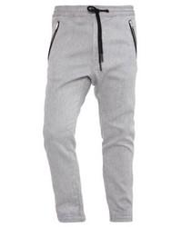 Pantalón de chándal de rayas verticales gris de Diesel