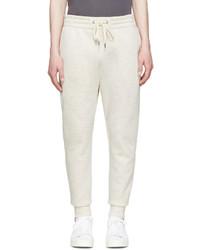 Pantalón de chándal en beige de Helmut Lang
