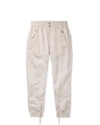 Pantalón de chándal en beige de Isabel Marant