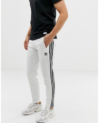 Pantalón de chándal en blanco y negro de adidas Originals