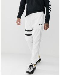 Pantalón de chándal en blanco y negro de Nike