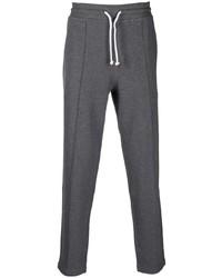 Pantalón de chándal en gris oscuro de Brunello Cucinelli