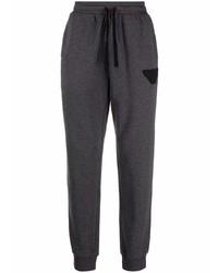 Pantalón de chándal en gris oscuro de Emporio Armani
