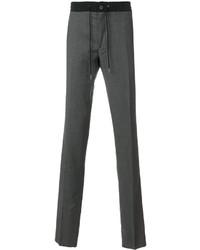 Pantalón de chándal en gris oscuro de Lanvin
