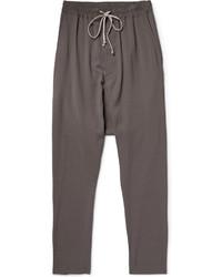 Pantalón de chándal en gris oscuro de Rick Owens