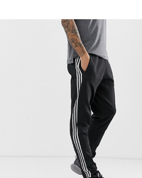 Pantalón de chándal en negro y blanco de adidas