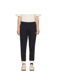 Pantalón de chándal en negro y blanco de AMI Alexandre Mattiussi