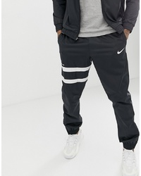 Pantalón de chándal en negro y blanco de Nike