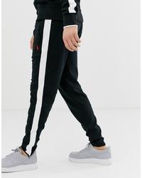 Pantalón de chándal en negro y blanco de Polo Ralph Lauren
