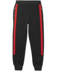 Pantalón de chándal en rojo y negro