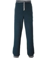 Pantalón de chándal en verde azulado de Missoni