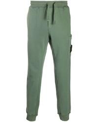 Pantalón de chándal en verde menta de Stone Island