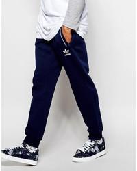 Pantalón de chándal estampado azul marino de adidas