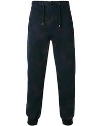 Pantalón de chándal estampado azul marino de Etro
