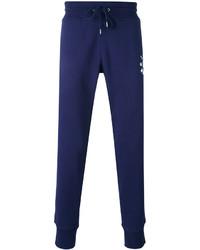 Pantalón de chándal estampado azul marino de Love Moschino
