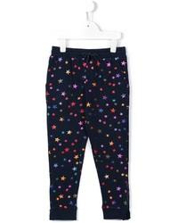 Pantalón de chándal estampado azul marino de Stella McCartney