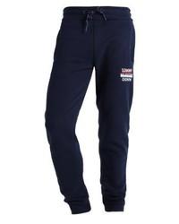 Pantalón de Chándal Estampado Azul Marino de Tommy Hilfiger