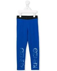 Pantalón de chándal estampado azul de Kenzo