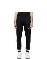 Pantalón de chándal estampado en negro y blanco de Alexander McQueen
