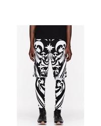 Pantalón de chándal estampado en negro y blanco de Ktz
