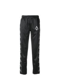 Pantalón de chándal estampado en negro y blanco de Marcelo Burlon County of Milan
