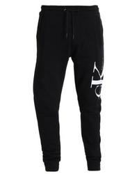 Pantalón de Chándal Estampado Negro de Calvin Klein