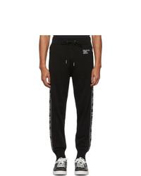 Pantalón de chándal estampado negro de Diesel