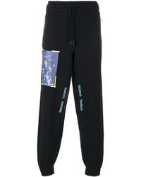 Pantalón de chándal estampado negro de Off-White