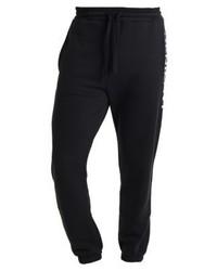 Pantalón de Chándal Estampado Negro de Tommy Hilfiger