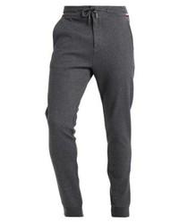 Pantalón de Chándal Gris Oscuro de Tommy Hilfiger