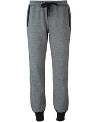Pantalón de chándal gris de adidas by Stella McCartney