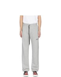 Pantalón de chándal gris de Amiri