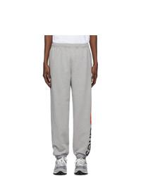Pantalón de chándal gris de Aries