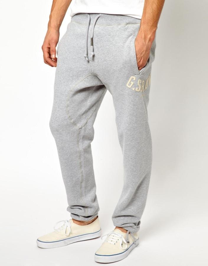 gran descuento venta gran surtido disfruta del mejor precio Pantalón de chándal gris de G Star