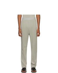 Pantalón de chándal gris de Haider Ackermann