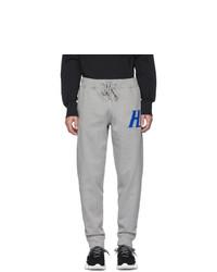 Pantalón de chándal gris de Helmut Lang