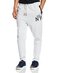 Pantalón de chándal gris de Hilfiger Denim