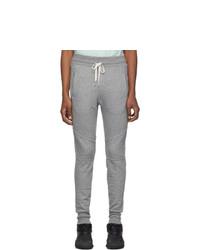 Pantalón de chándal gris de John Elliott
