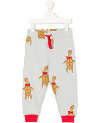 Pantalón de Chándal Gris de Mini Rodini