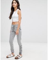 Pantalón de chándal gris de Only