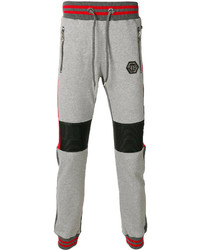 Pantalón de Chándal Gris de Philipp Plein