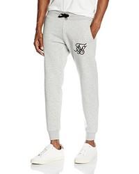 Pantalón de chándal gris de Sik Silk
