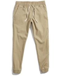 Pantalón de chándal marrón claro